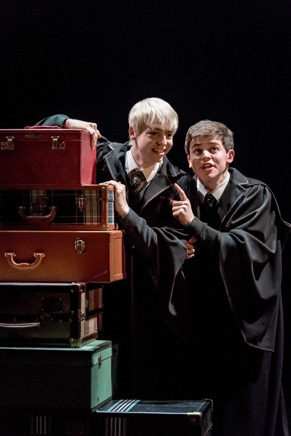Scorpius and Albus in Harry Potter and the Cursed Child