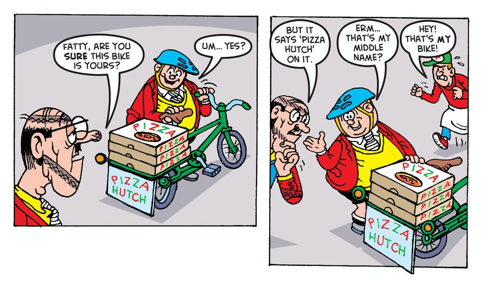 bash street kids cycling