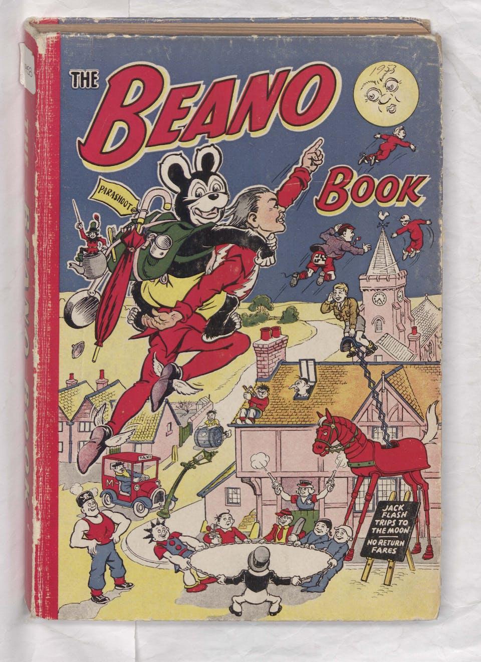 cover beano book 1953 annual