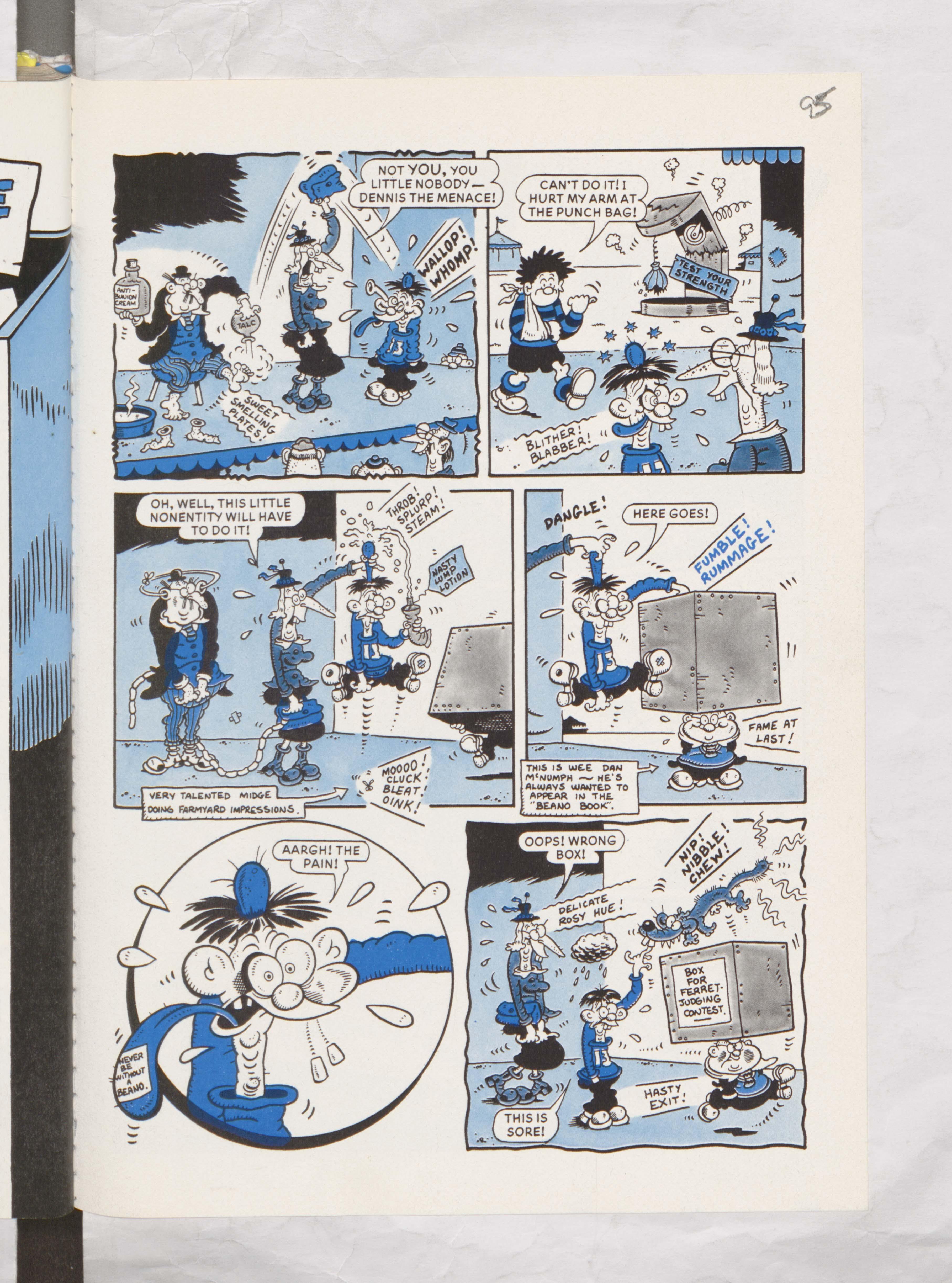 Calamity James Beano Book 1988 Annual