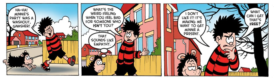 Inside Beano 3965 - Dennis the Menace
