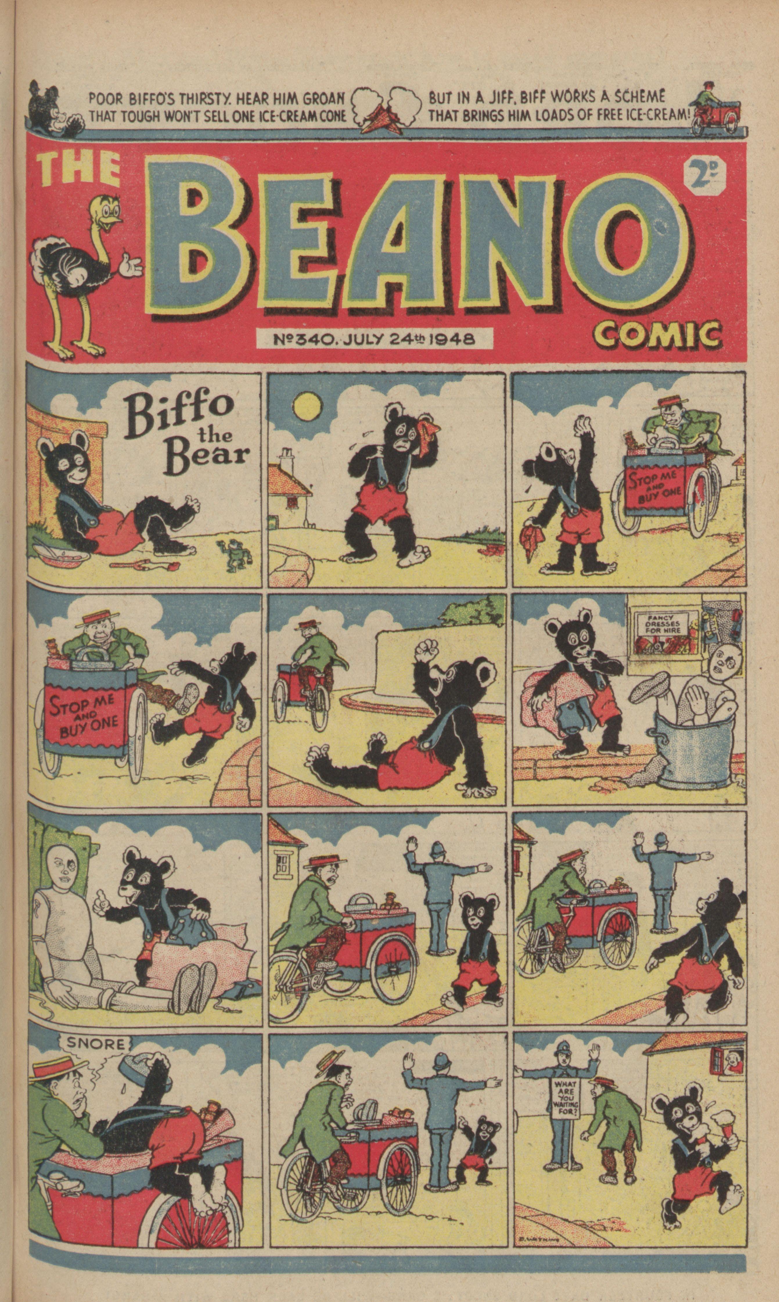 1948 beano cover
