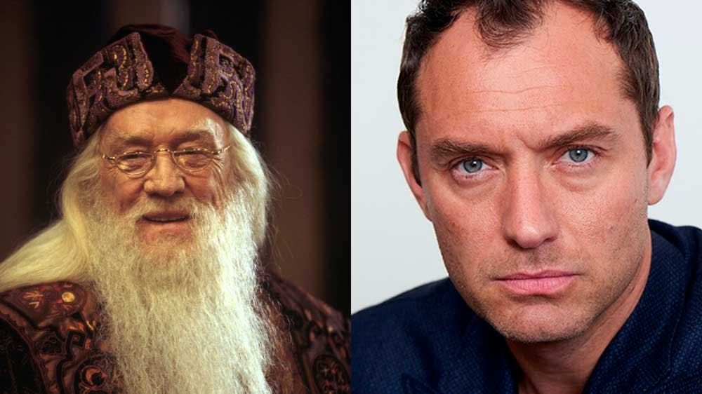 Dumbledore, both old and young
