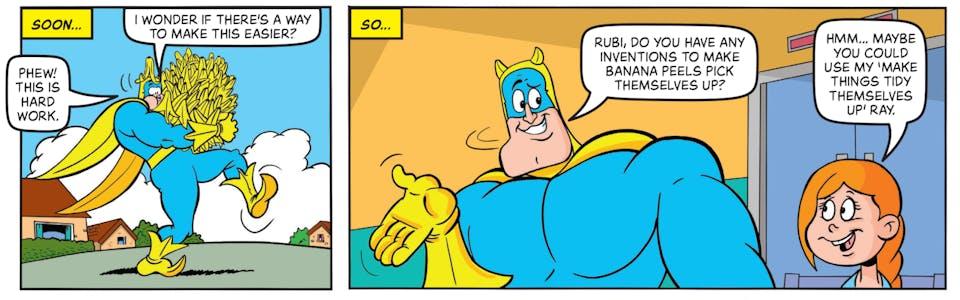 Inside Beano 4029 - Bananaman