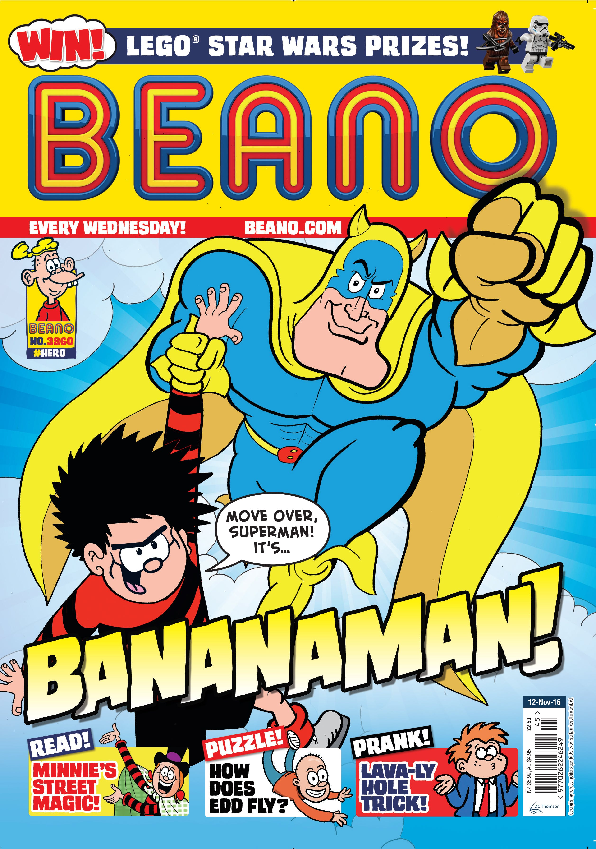 Beano Cover 9.11.16