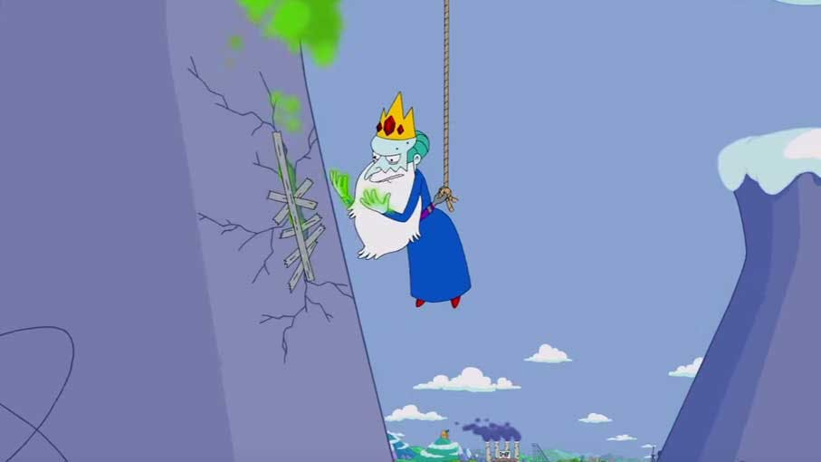 Mr Burns as Ice King