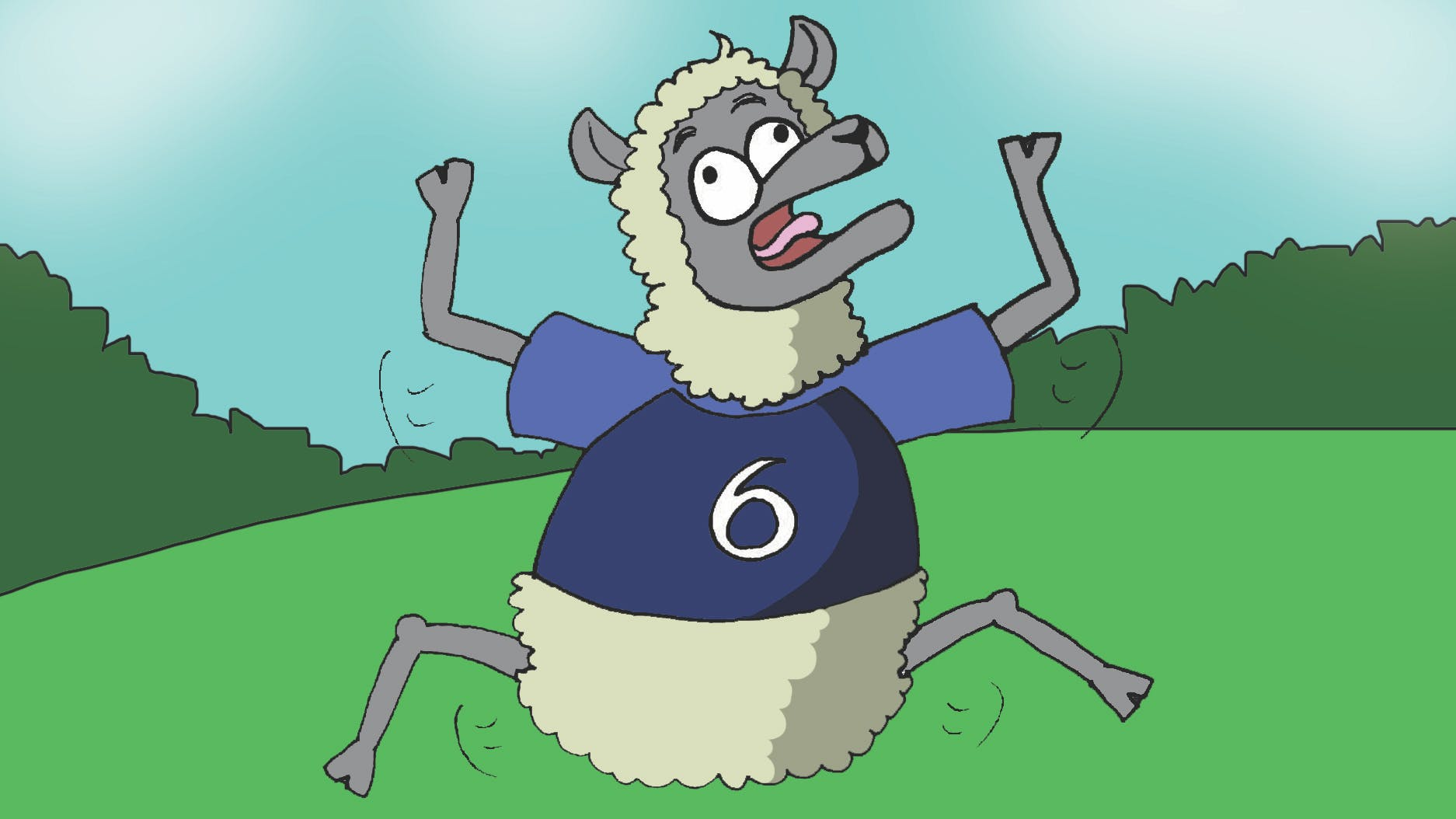 Who was the sheep's favourite footballer? - Paul PogBAAA!