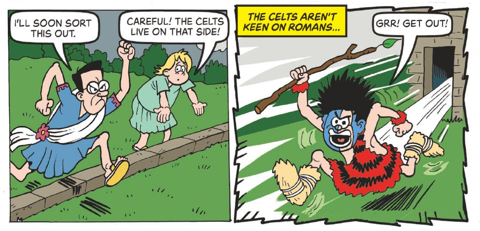 Beano 3995 - Dennis and Gnasher