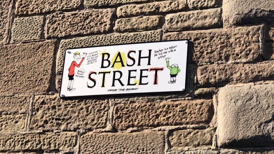 Bash Street sign