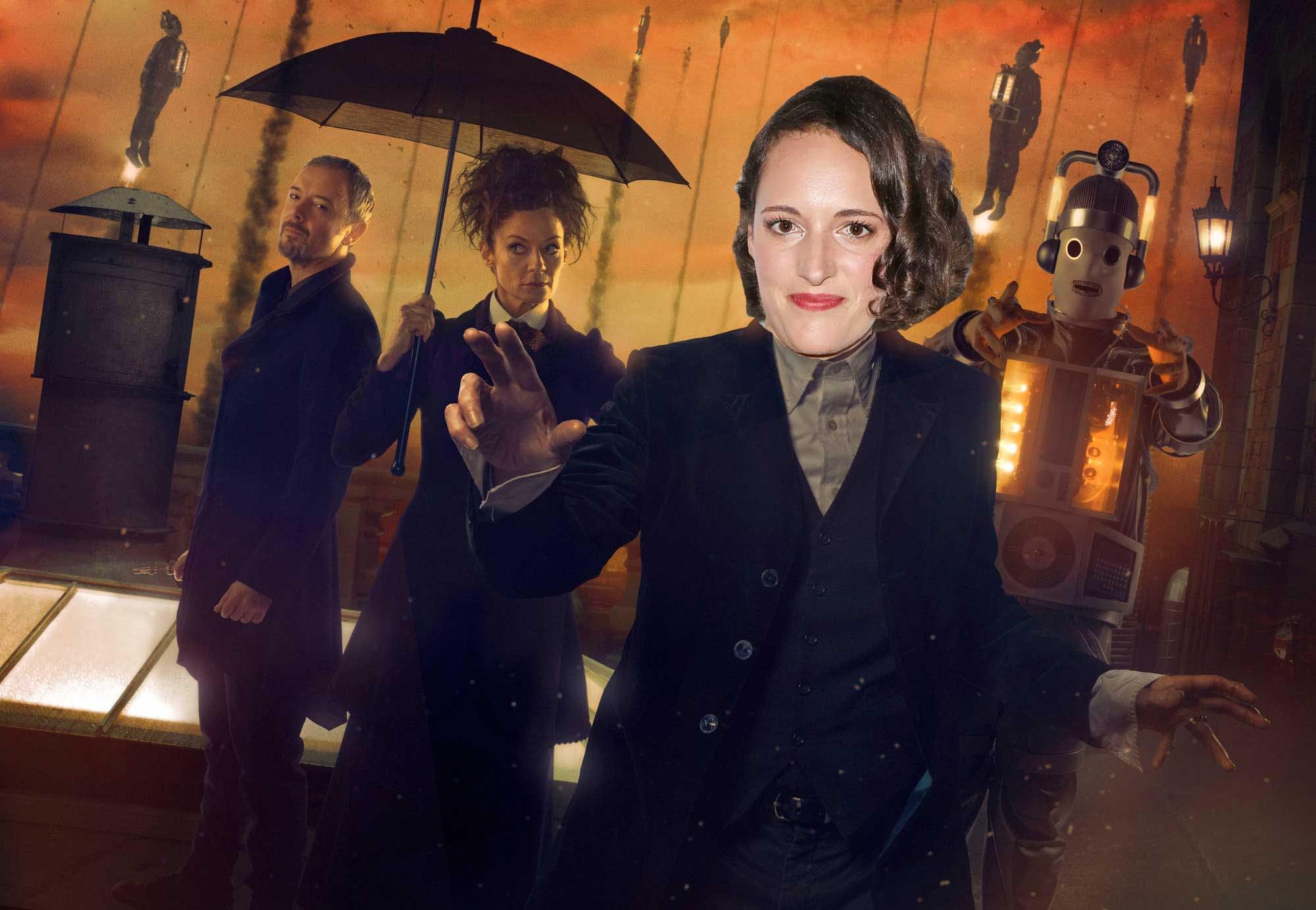 Phoebe Waller-Bridge in Doctor Who
