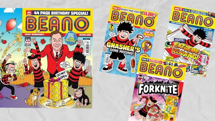 BEANO Covers 2018