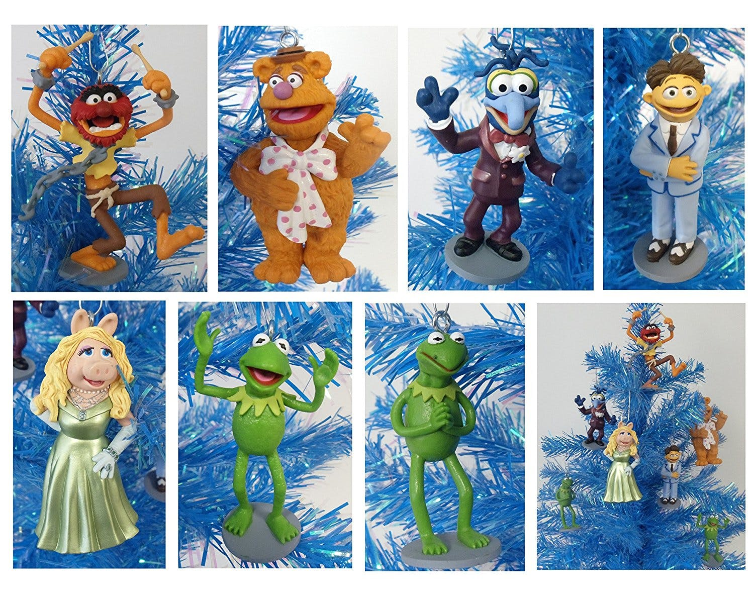 Muppets Christmas tree decorations