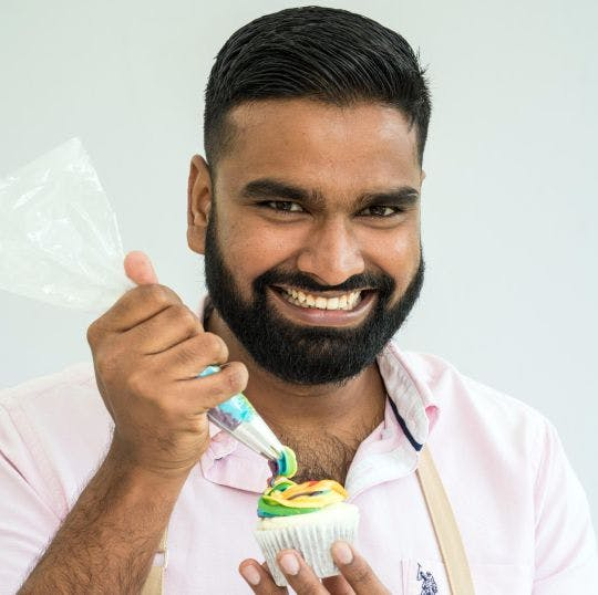 Great British Bake Off contestant Antony