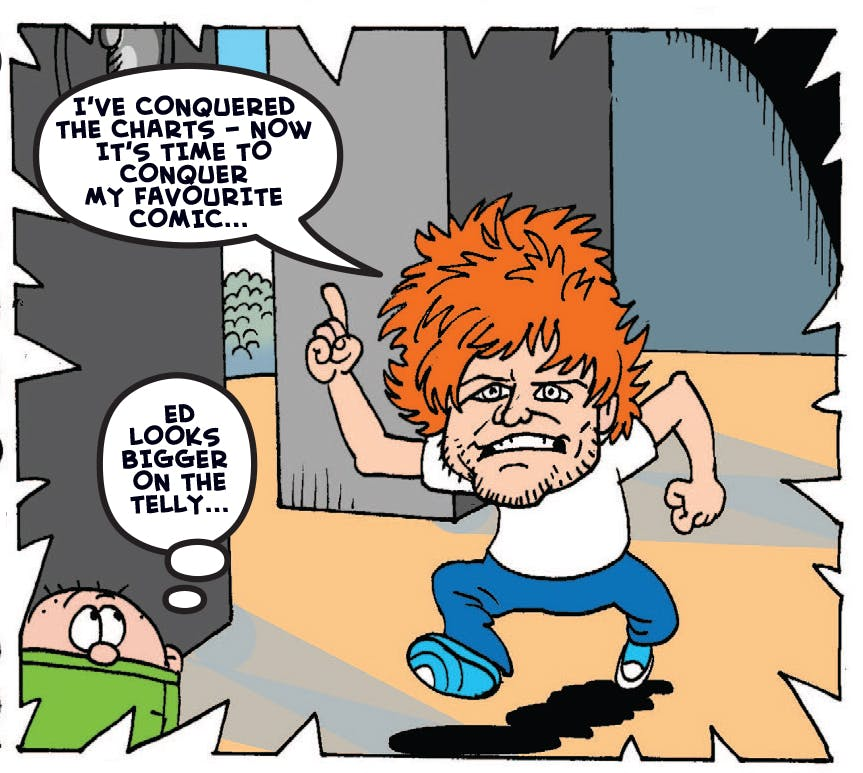 Ed Sheeran makes his first ever appearance at Beanofest!