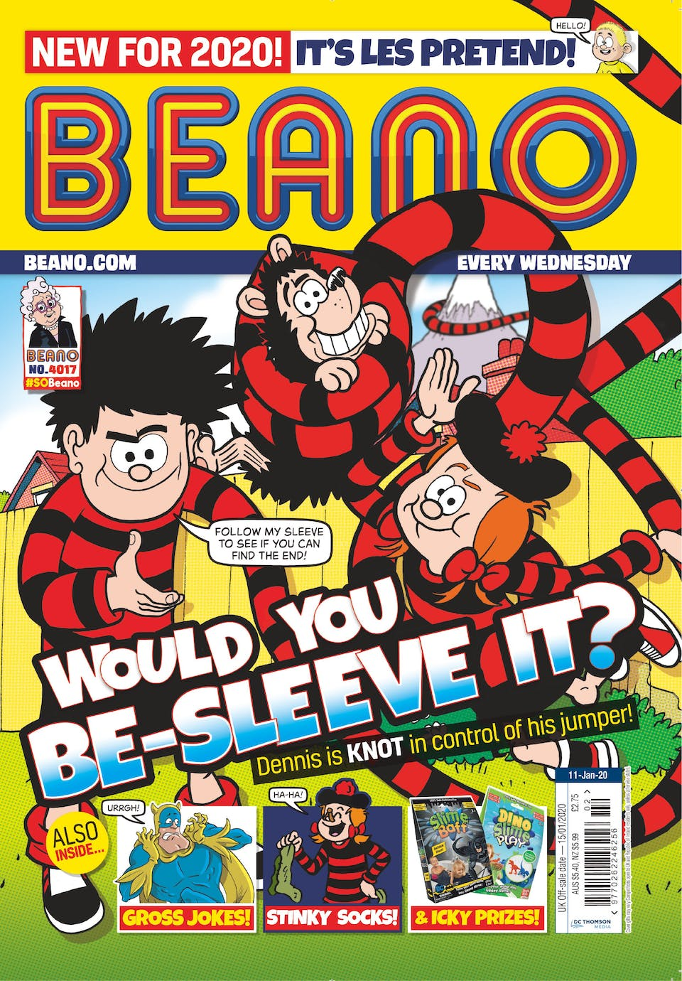 Inside Beano 4017 - Would you be-sleeve it?