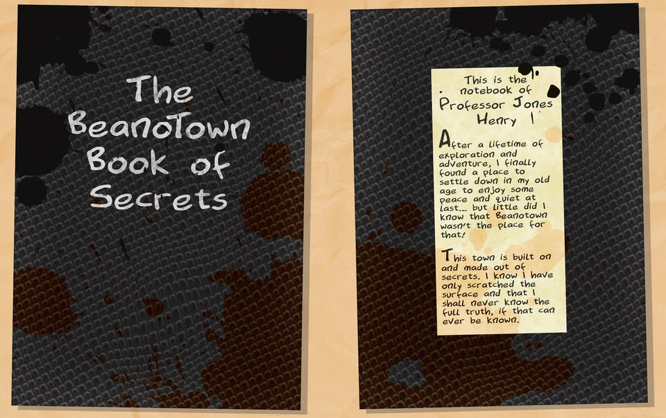 The Beanotown Book of Secrets