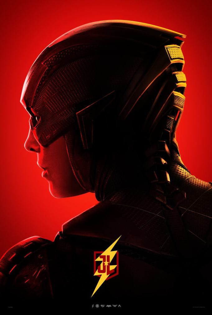 The Flash poster for Justice League