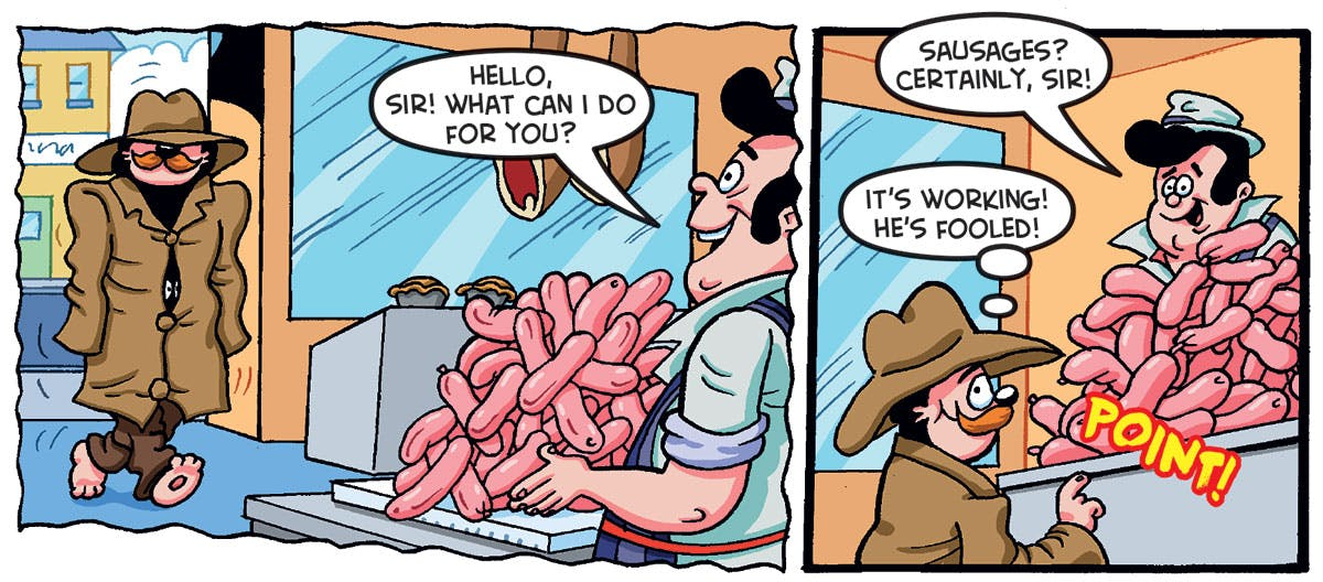 Will it work on Butch Butcher… and his sausages?