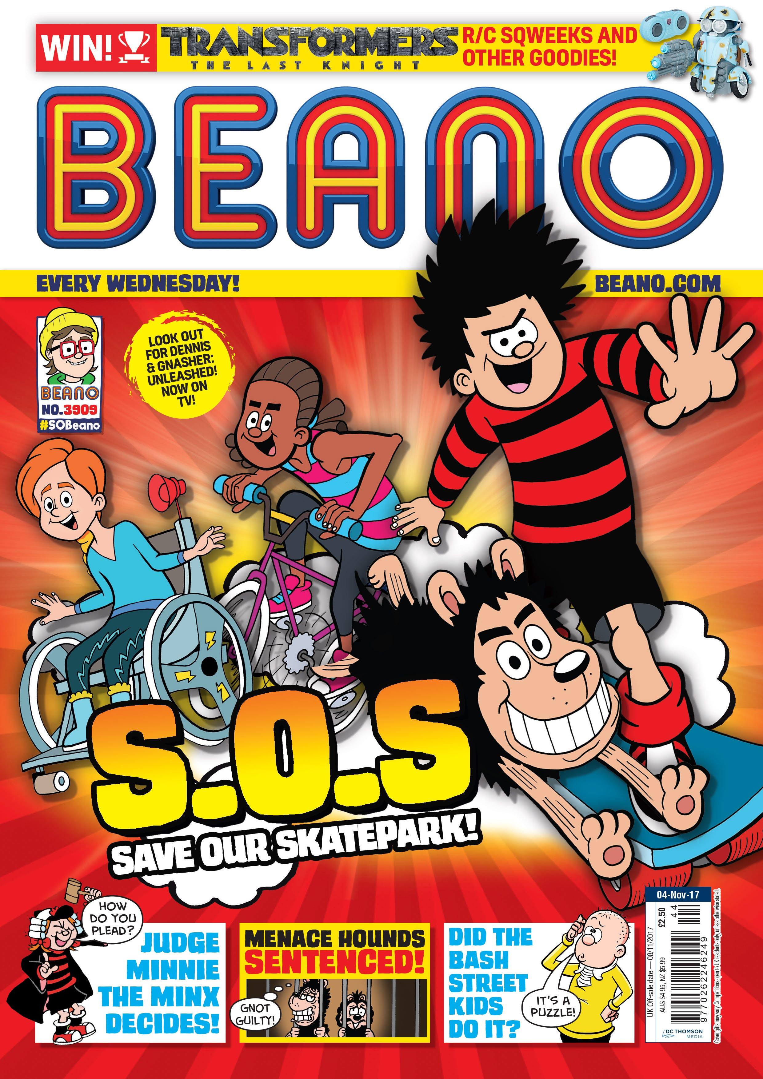 Beano Issue 3909