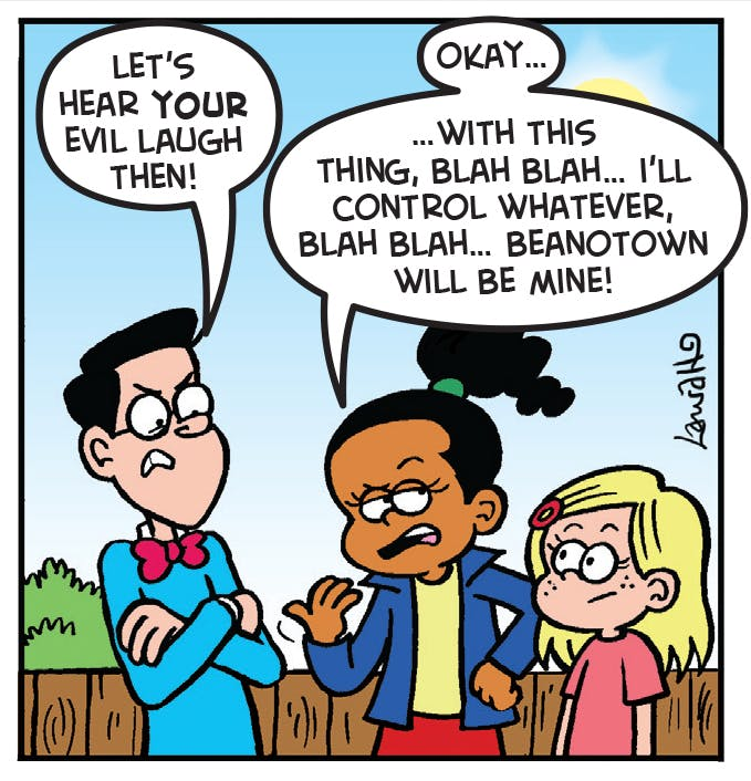 Angel Face - Evil Laugh | Comic strips | Comic Characters ...