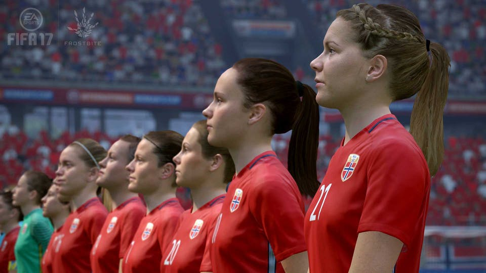 FIFA 17 - Norwegian women's team