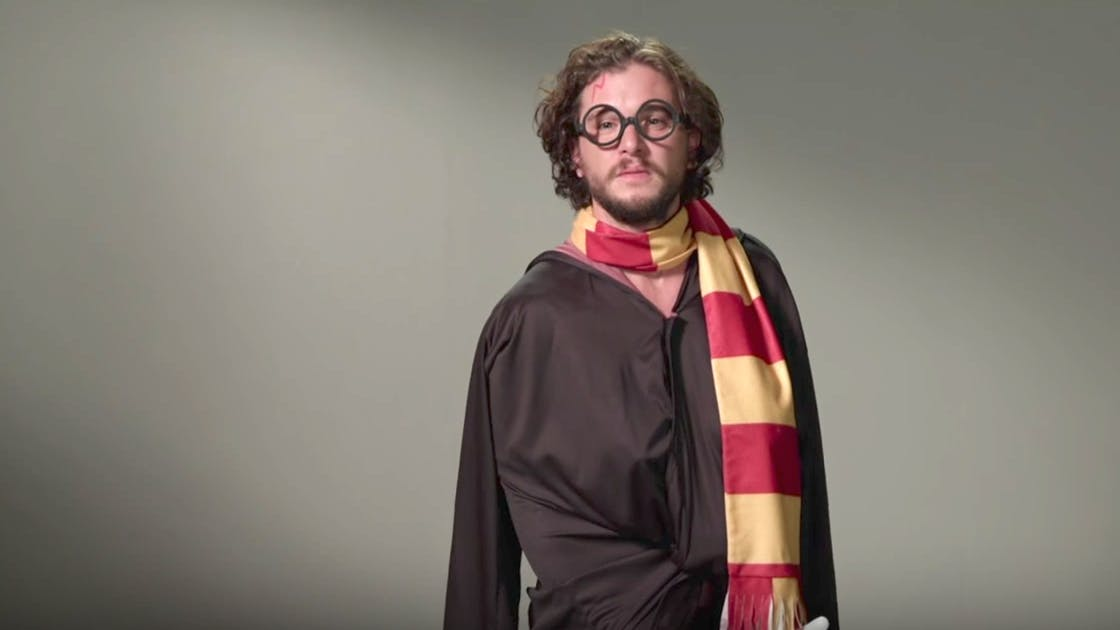 Kit Harrington says he'd be in Gryffindor