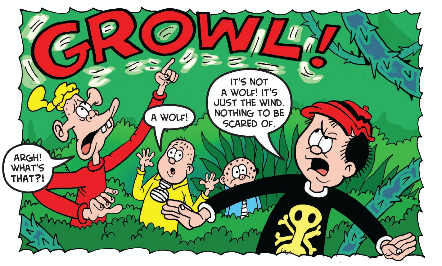 The Bash Street Kids from Beano