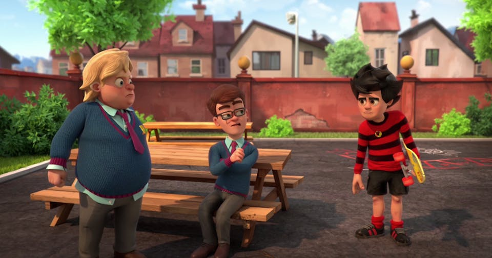 Walter in Dennis and Gnasher Unleashed