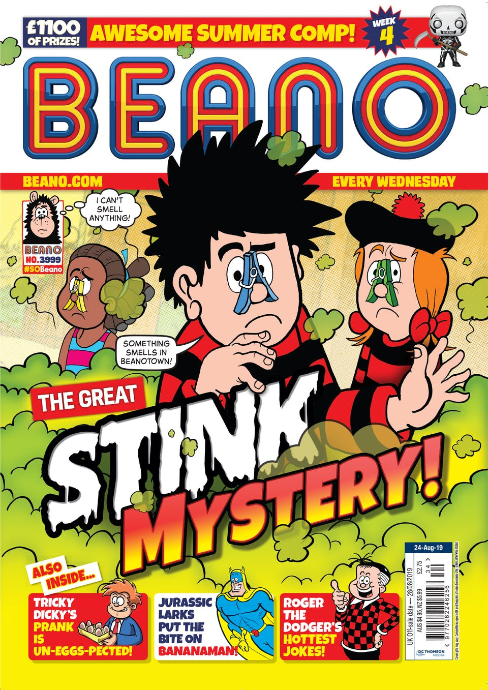 Inside Beano 3999 - The Great Stink Mystery