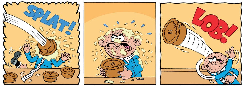 Inside Beano 4034 - It's the big Bash Street food fight!