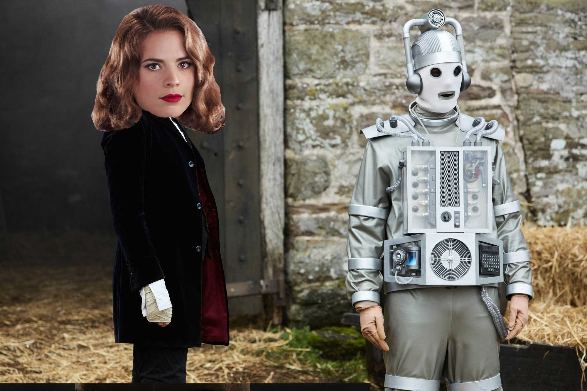 Hayley Atwell in Doctor Who