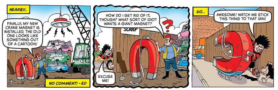 Inside Beano 4018 - Dennis and Gnasher