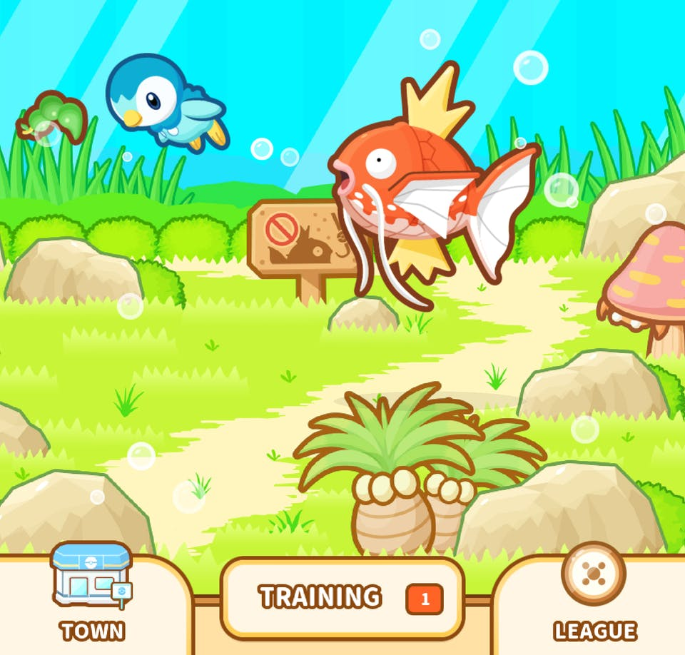 Magikarp Jump - Decorate your pond