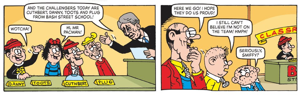 Inside Beano 4003 - Bash Street Kids