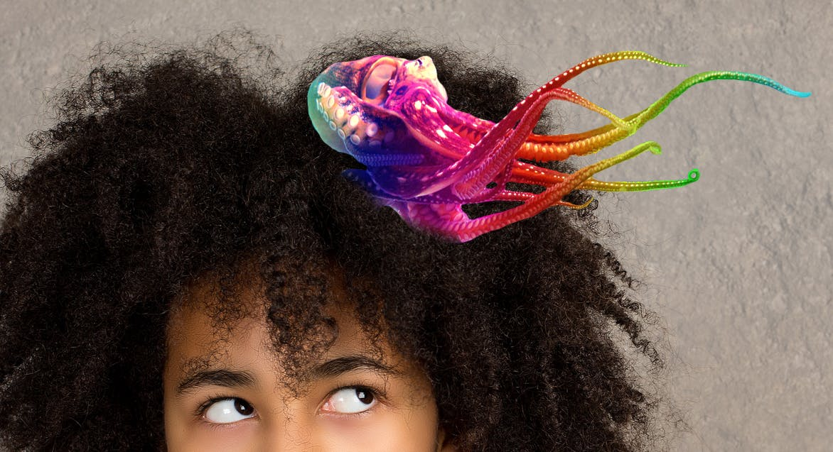 Jo-jo bow octopus