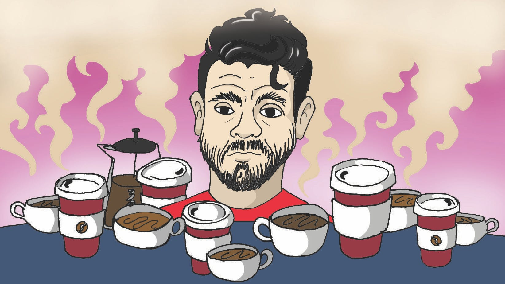 Which footballer makes the best coffee? - Diego Costa!