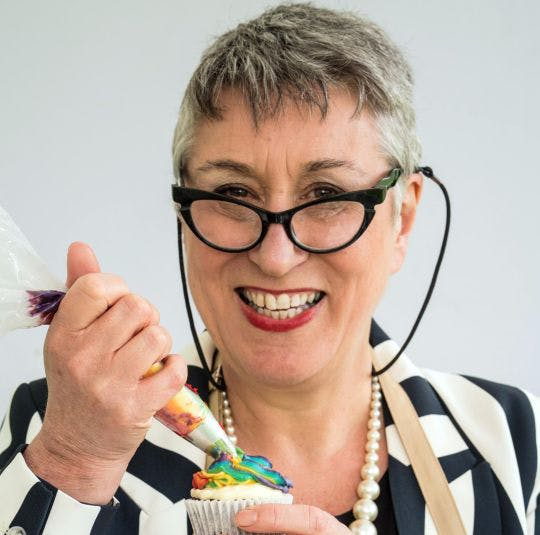 Great British Bake Off contestant Karen