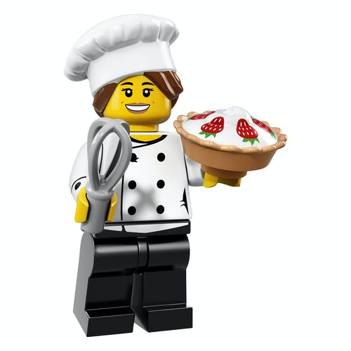 LEGO minifgs series 17 Gourmet Chef