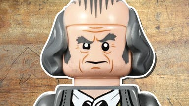 Argus Filch LEGO character