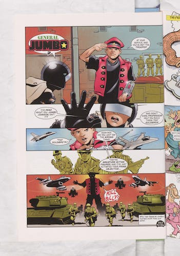 Billy the Cat versus General Jumbo! - Beano Annual 2008