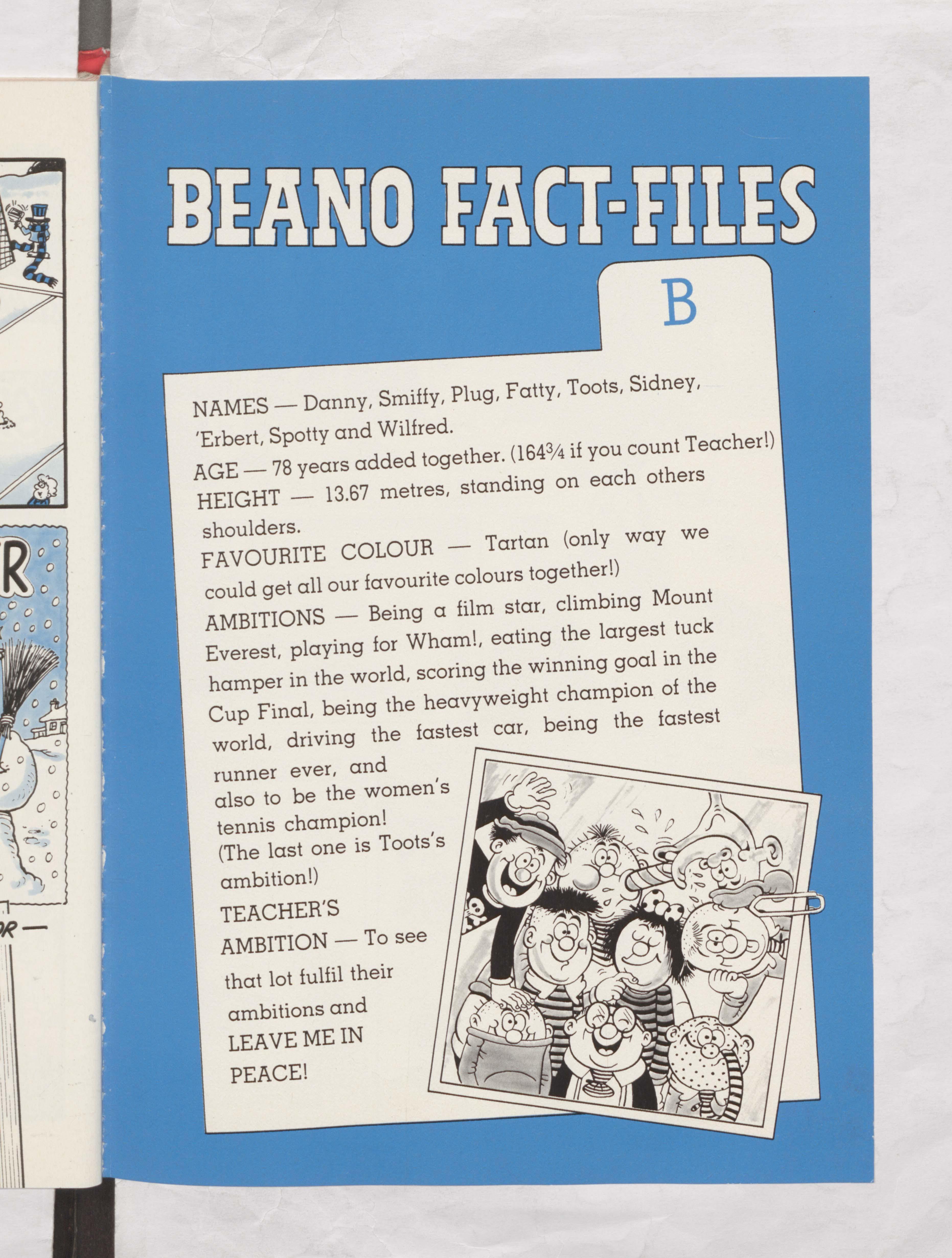 The Bash Street Kids Beano Book 1987 Annual