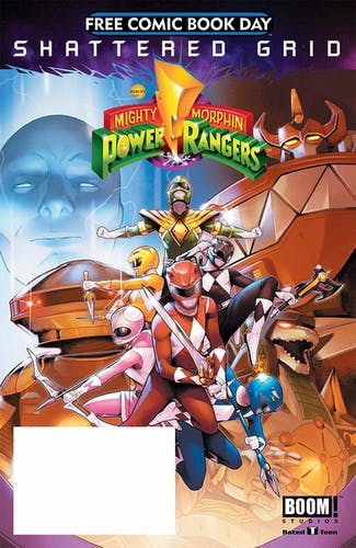 Power Rangers Comic Cover