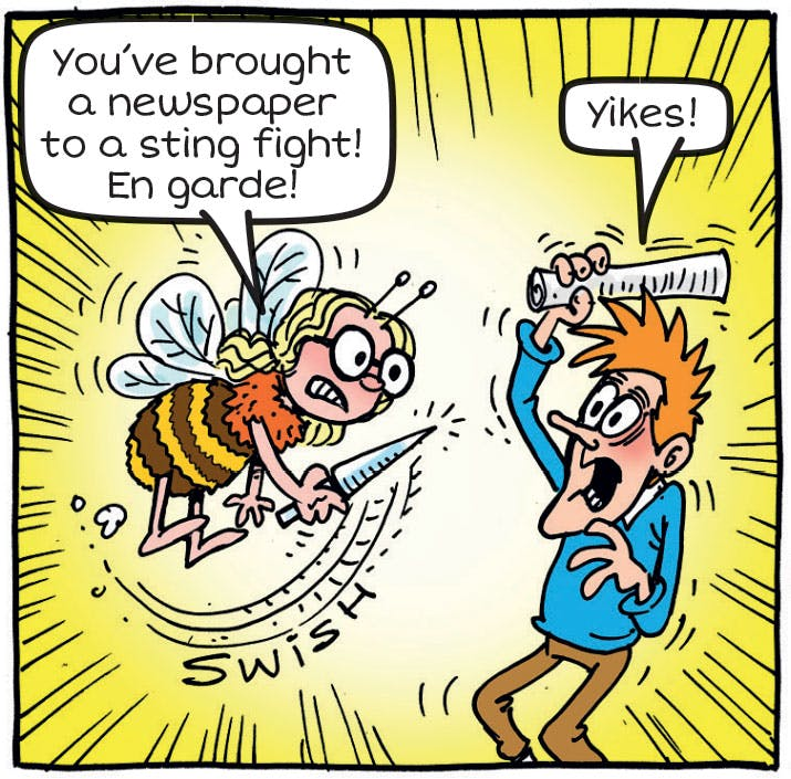 Bumblebee Bronte - Make Me A Menace - Beano No. 3899