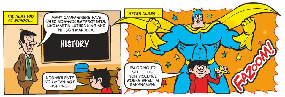 Beano no. 4001 - Bananaman