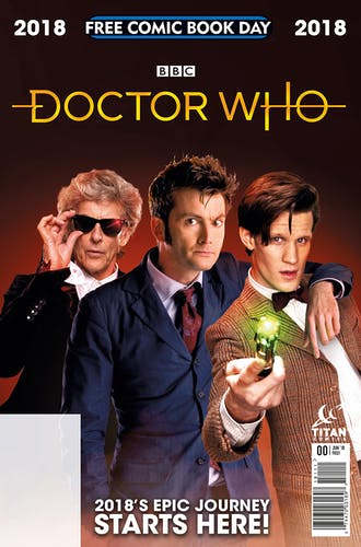 Doctor who free comic cover