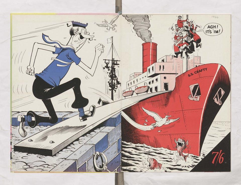 Jonah - Beano Book 1964