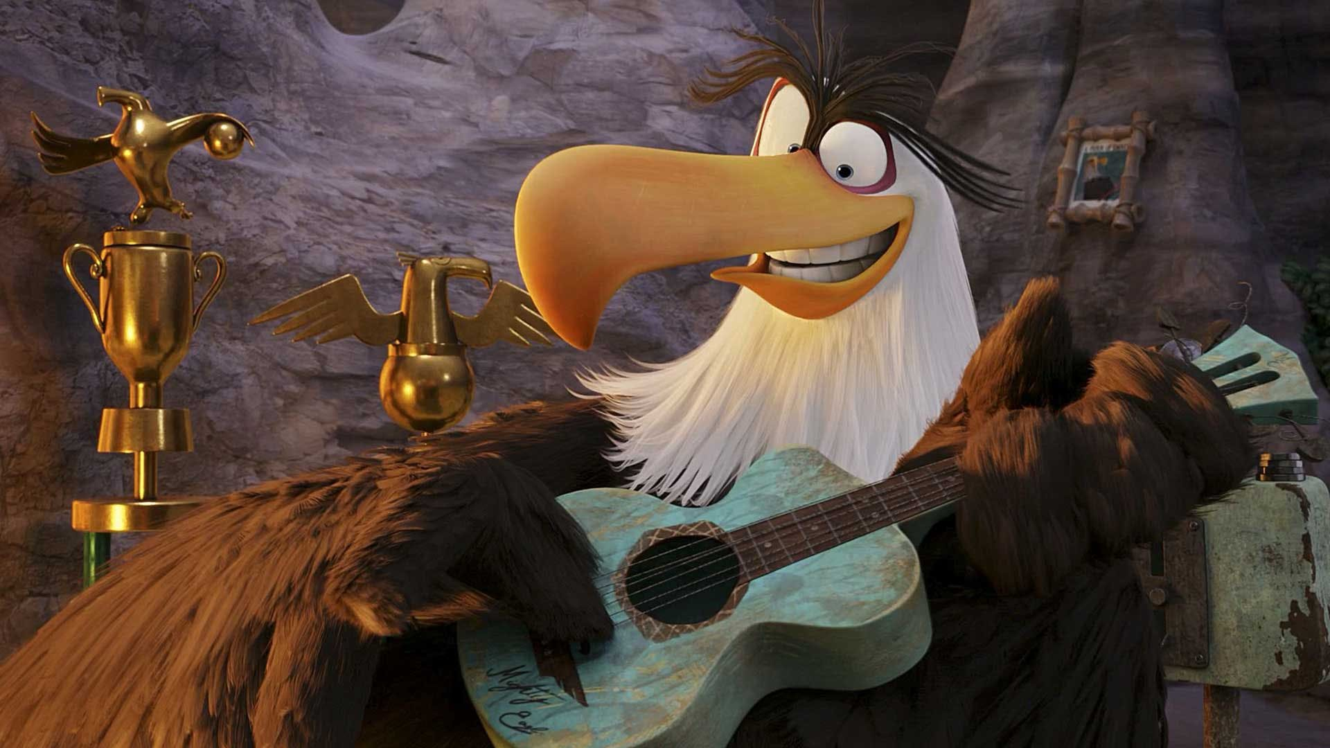 Mighty Eagle from Angry Birds