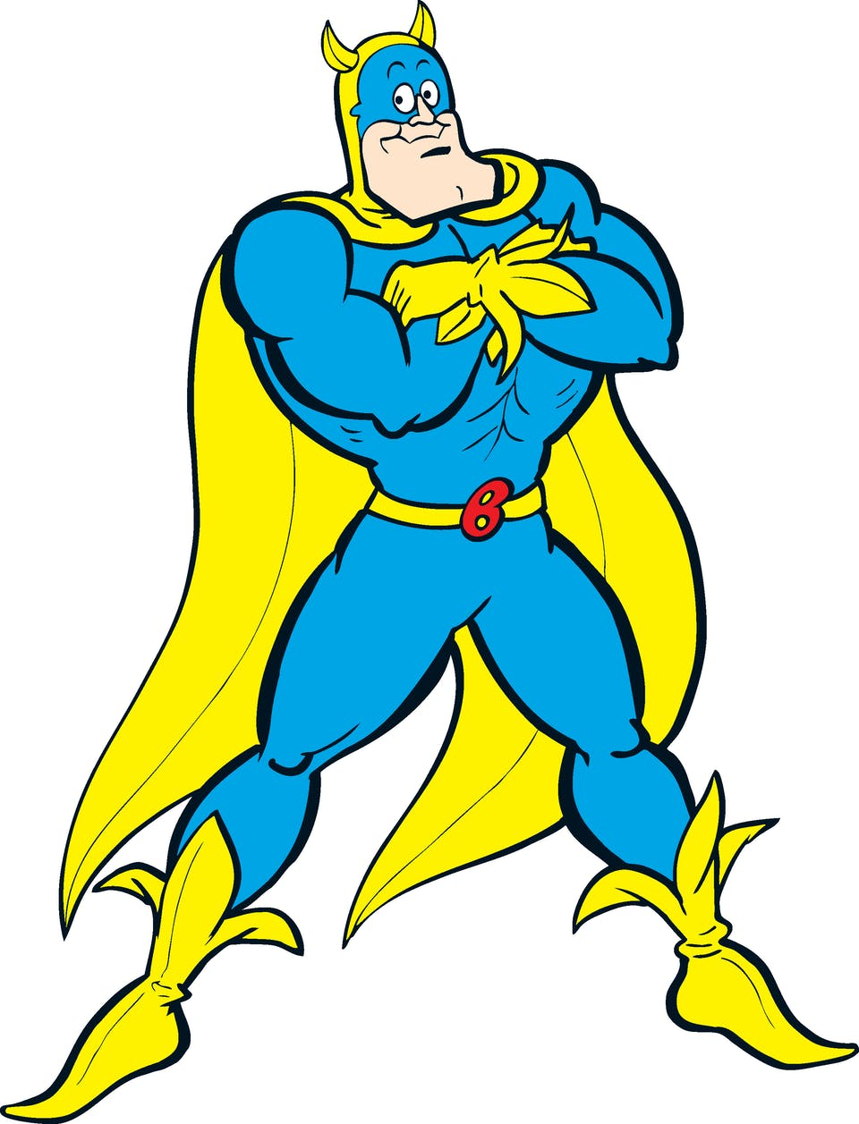 Bananaman standing