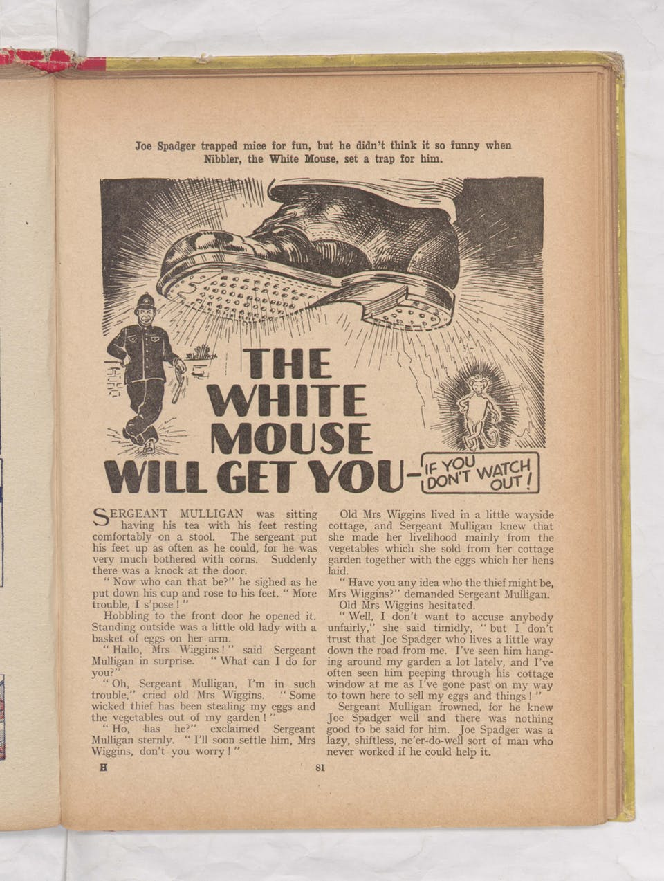 Beano Book 1942 - The White Mouse