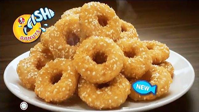 Fish donuts